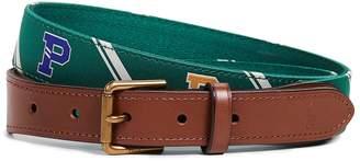 Polo Ralph Lauren 28mm Collegiate Motif Belt