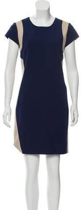 Diane von Furstenberg Mini Capped Sleeve Dress