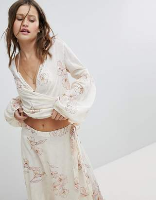 Billabong Wrap Beach Top Co-Ord