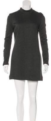 Nicole Miller Long Sleeve Mini Dress