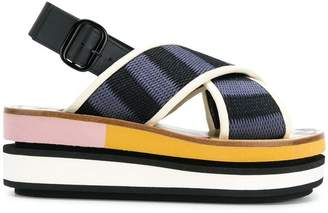Marni slingback wedge sandals