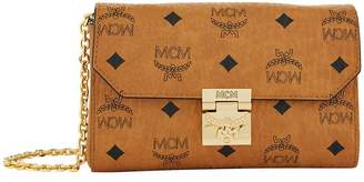 MCM Small Millie Visetos Cross Body Bag