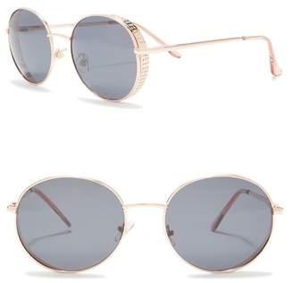 Joe's Jeans 59mm Round Sunglasses