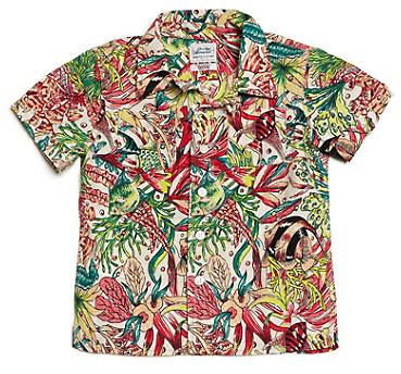 Lucky Brand Dale Hope Fish Print Shirt*