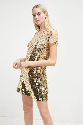 French Connenction Basu Sparkle Tunic Dress