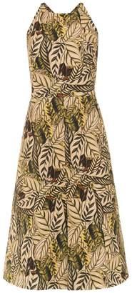 Andrea Marques printed sleeveless dress
