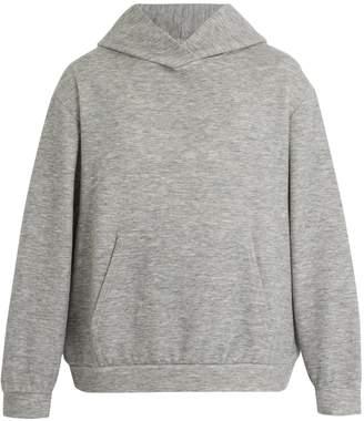 Raey Hooded cashmere-blend sweatshirt