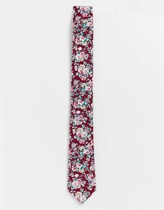 Original Penguin floral tie