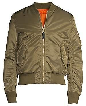 Alpha Industries Men's Nylon Flight Jacket