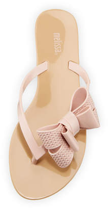 Melissa Shoes Harmonic Bow Jelly Sandals