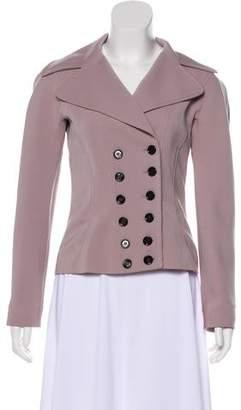 Dolce & Gabbana Virgin Wool Button-Up Jacket