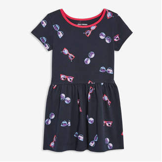 adc36dc12 Joe Fresh Toddler Girls' Print Dress, JF Midnight Blue (Size ...