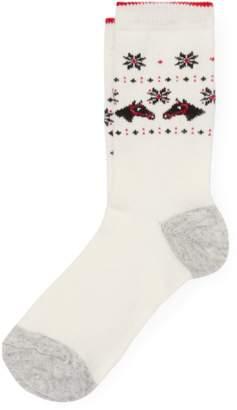 Polo Ralph Lauren Horse-Head Boot Socks