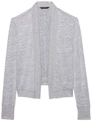 Banana Republic Luxespun Cropped Lightweight Cardigan