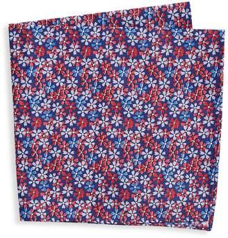 Tommy Hilfiger Floral Pocket Square