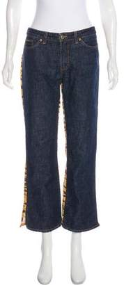 Dolce & Gabbana Mid-Rise Printed Jeans