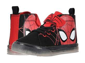 Favorite Characters SPF725 Spider-Mantm Canvas Hi Top (Toddler/Little Kid)