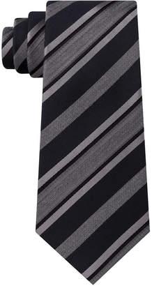 Kenneth Cole Reaction Men Rail Stripe Slim Tie