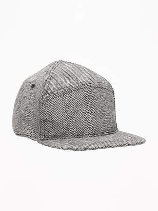 Old Navy Herringbone Flannel Baseball Cap for Toddler Boys 790a820002c5