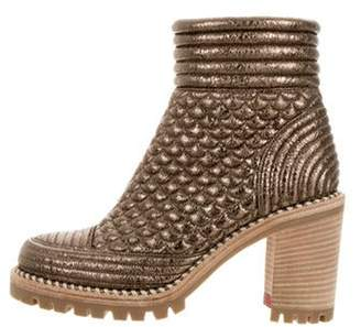 6ee01f1fc95 Christian Louboutin Gold Boots For Women - ShopStyle Canada