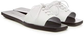 Jil Sander Junior Leather Sandals