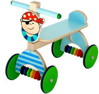 Hess Wooden Baby Riding Toy (Blue)