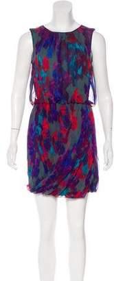Tibi Silk Patterned Dress