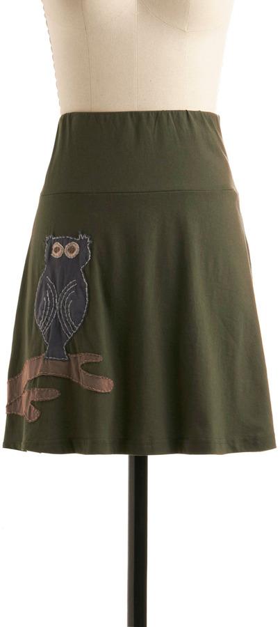 Hoo, Me? Skirt
