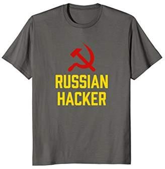 Cccp Russian Hacker Soviet USSR Hammer and Sickle T-Shirt