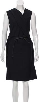 Helmut Lang Sleeveless Midi Dress w/ Tags