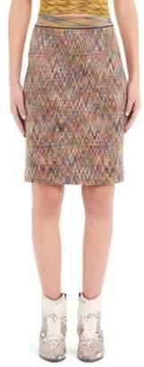 Missoni Chevron Knit Pencil Skirt