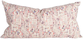 One Kings Lane Vintage Speckled Multicolor Body Pillow - Ivy and Vine