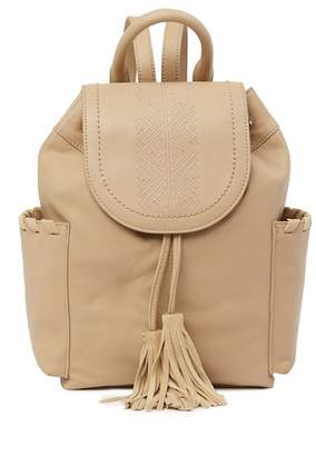 Lucky Brand Wind Leather Backpack