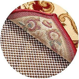 RHF Non-Slip Area Rug Pad Round 6' - Protect Floors While Securing Rug and Making Vacuuming Easier Round 6