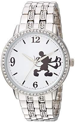 Disney Women's Mickey Mouse' Quartz Metal and Alloy Casual Watch
