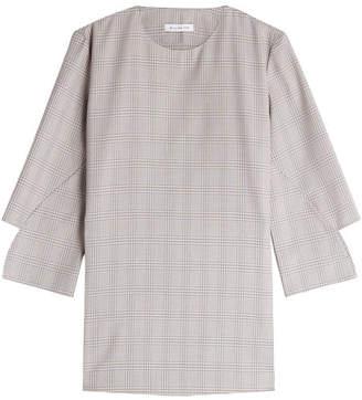 WILLIAM FAN Printed Virgin Wool Top