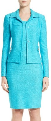 Women's St. John Collection Newport Knit Jacket $1,495 thestylecure.com