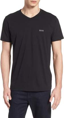 BOSS Teevn Regular Fit V-Neck T-Shirt