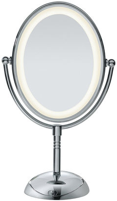 Conair Oval Lighted Make-Up Mirror $60 thestylecure.com
