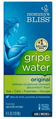 Mommy's Bliss Gripe Water for Babies with GasColic or Stomach Discomfort - 4oz $10.99 thestylecure.com