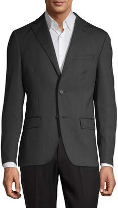 DKNY Slim-Fit Wool Suit Jacket