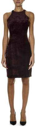 Stella McCartney Velvet Burgundy Short Dress Eliana