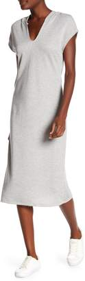 Couture Go Hooded Midi Dress
