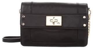 Milly Leather Shoulder Bag