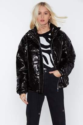 Nasty Gal Rain or Shine Padded Jacket