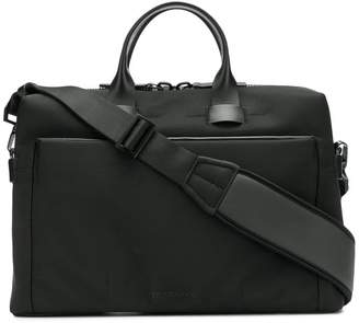 Troubadour top handle laptop bag