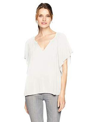 Velvet by Graham & Spencer Women's Tina Rayon Challis Top