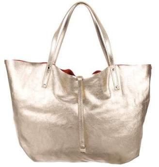 Tiffany & Co. Reversible Metallic Tote