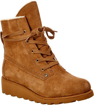 BearPaw Krista Never Wet Water-Resistant Suede Boot