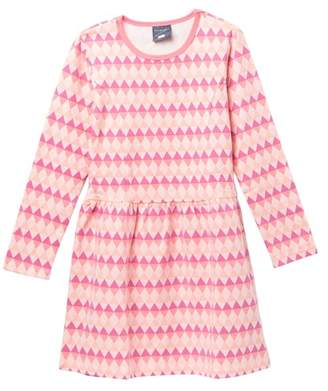 Toobydoo Yukie Geo Print Skater Dress (Toddler, Little Girls, & Big Girls)
